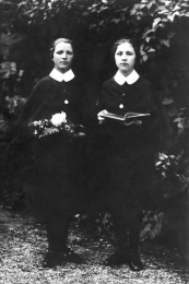 Mother Vojtěcha as a student and teacher